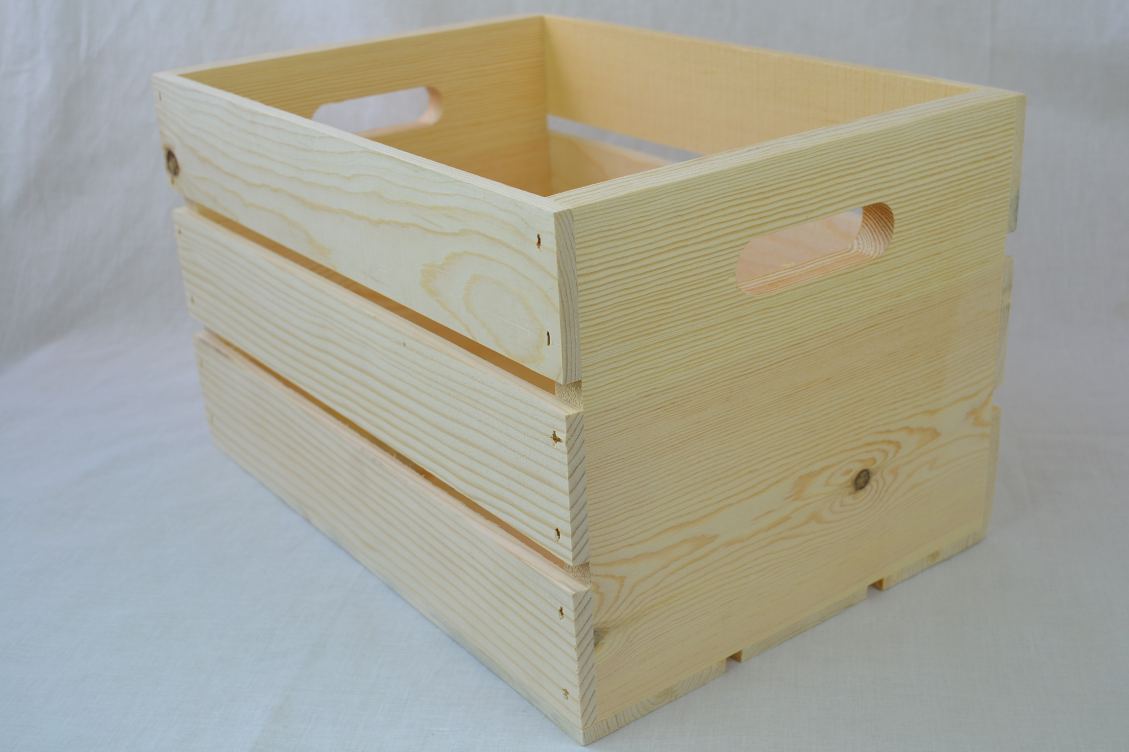 14 wooden crate with hand holes free shipping on this for Where to buy old crates