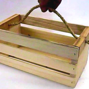 western tote crate