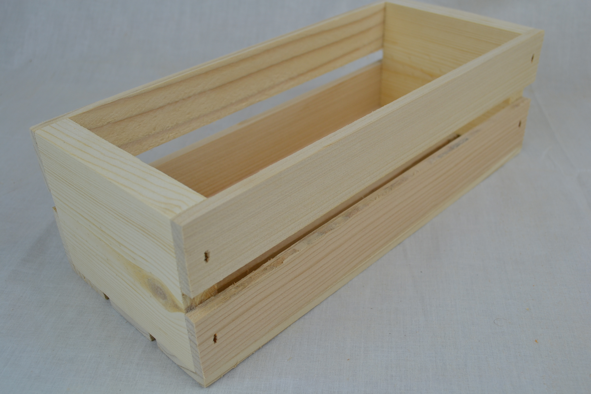 Old Fashioned Wooden Crates